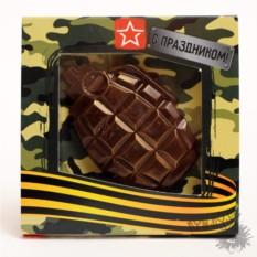 Шоколадная граната Лимонка
