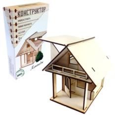 Деревянный конструктор «Домик»