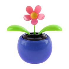 Маятник Цветочек в горшке, синий
