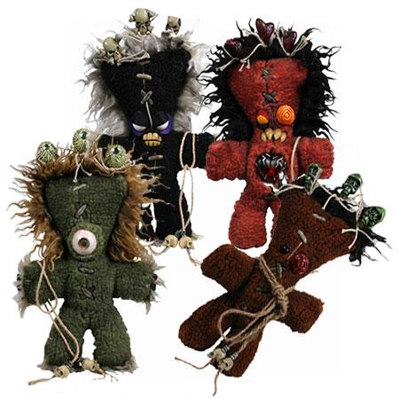 Набор из 4 кукол Вуду
