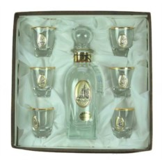 Подарочный набор для ликёра и водки Москва