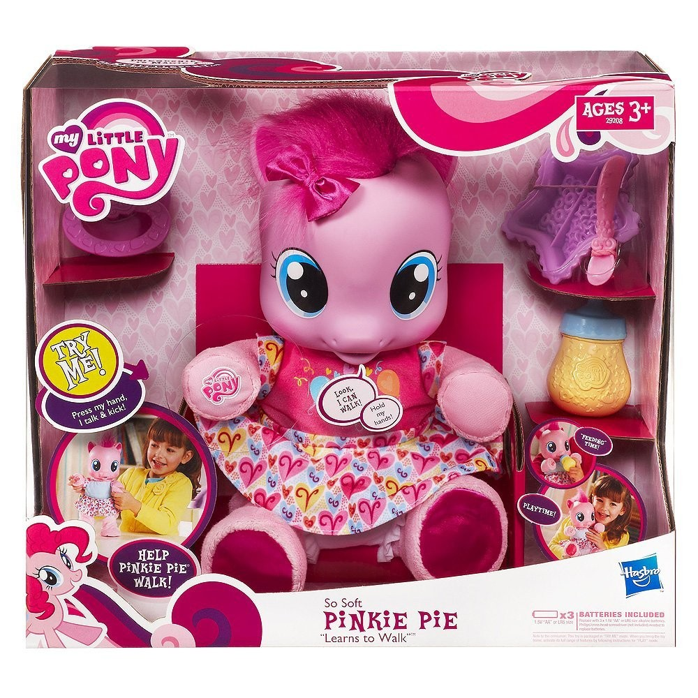 Интерактивная игрушка MLP Малютка пони Пинки Пай от Hasbro