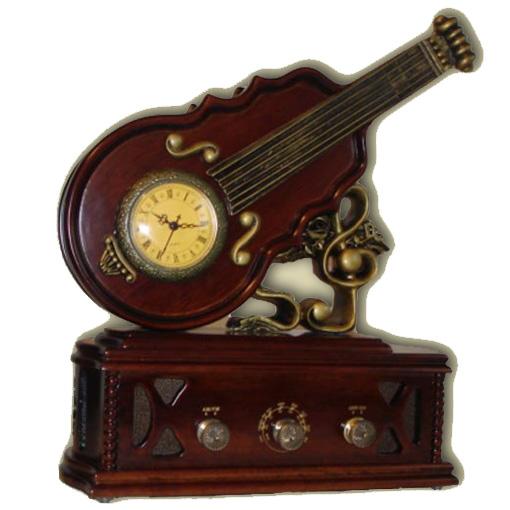 Радио с часами «Виолончель»