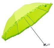 Зонт Салатовый  (с проявляющимся рисунком)