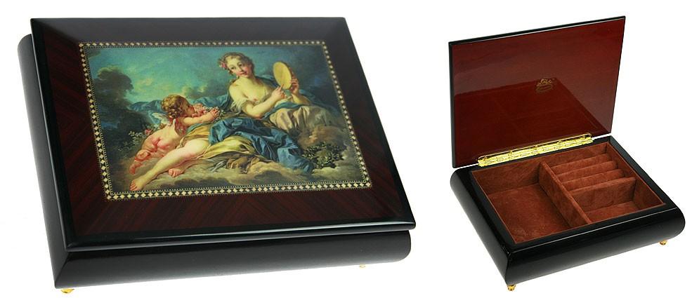 Шкатулка для ювелирных украшений Mercante, 21х14х8см