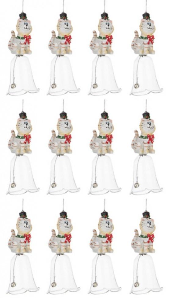 Набор из 12 декоративных колокольчиков