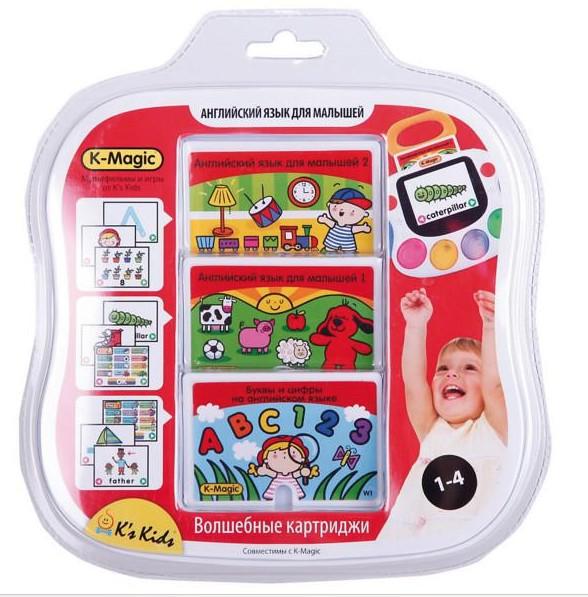 Игровой набор K-Magic Английский язык для малышей