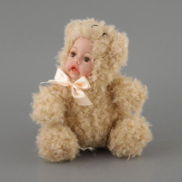 Коллекционная кукла Зверята в костюме собачки