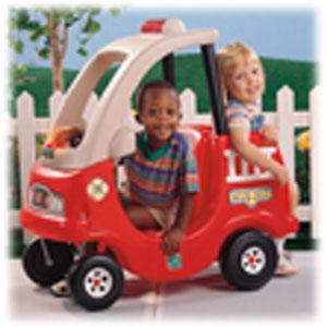 Пожарный автомобиль для двоих