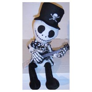 Скелет поёт, играет на гитаре