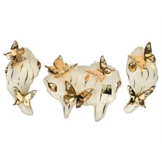 Набор настенных украшений Бабочки Ceramiche Stella