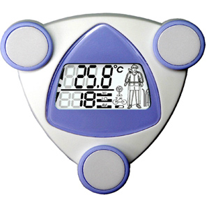 Уличный термометр с дисплеем