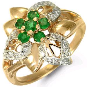 Кольцо «Цветы»