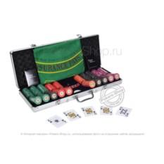 Турнирный набор для покера Luxury Ceramic на 500 фишек
