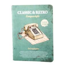 Тетрадь Retro & classic telephone
