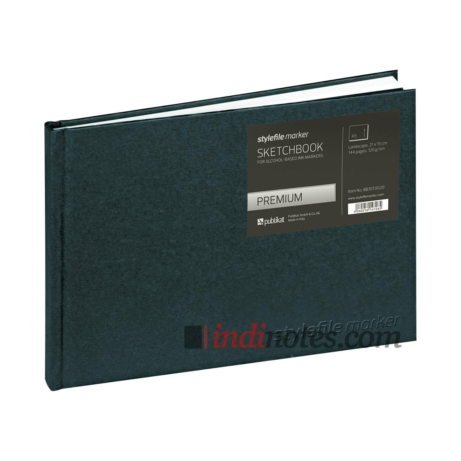 Скетчбук для маркеров StyleFile Marker Premium, пейзаж А5