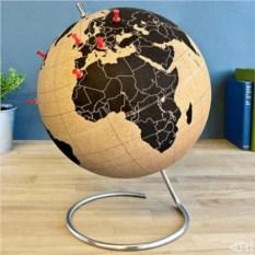 Пробковый глобус для путешественников Cork Globe