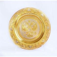 Декоративная тарелка Герб России