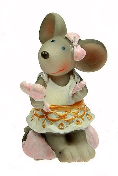 Фигурка декоративная Мышка