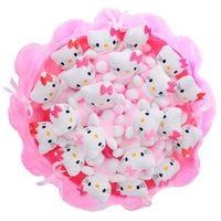 Букет из игрушек Китти в розовом