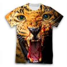 Футболка Тигр с окровавленной пастью