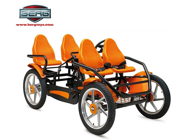 Веломобиль BERG Gran Tour Family bike
