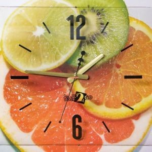 Настенные часы «Фрукты»