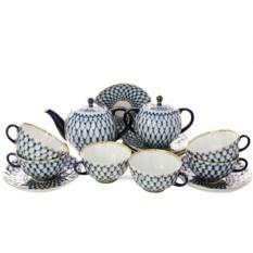Фарфоровый сервиз для чая Тюльпан