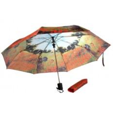 Набор «Поле маков Моне (платок, складной зонт)