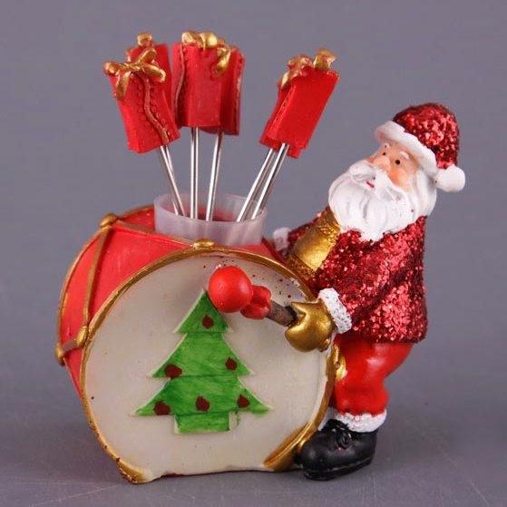 Набор для канапе Дед Мороз