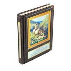 Книга Охота в европейской живописи (кожа)