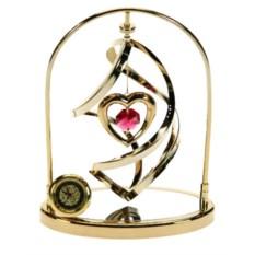 Декоративная фигурка с часами Сердце