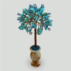 Дерево из бирюзы Бирюзовая мечта