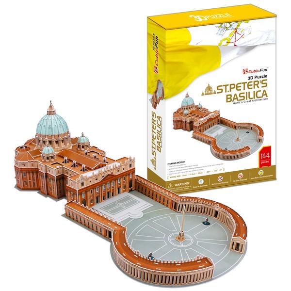 3D пазл Cubic Fun Собор Святого Петра (Ватикан, Италия)