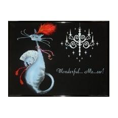 Картина Swarovski Гламурная кошечка