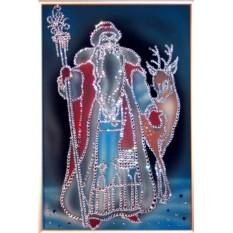 Картина с кристаллами Сваровски Морозко
