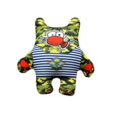 Подушка-игрушка Котик во всеоружии