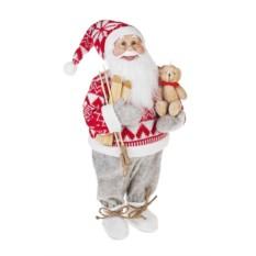 Новогоднее украшение Дед Мороз с мишкой