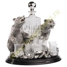 Набор для водки «Медведи»