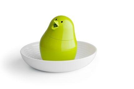 Набор для завтрака и специй Jib Jib, зеленый с белым