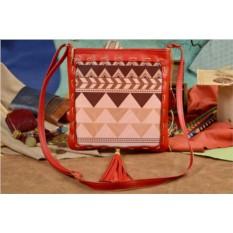 Женская сумка-планшет Elole Design Геометрический узор