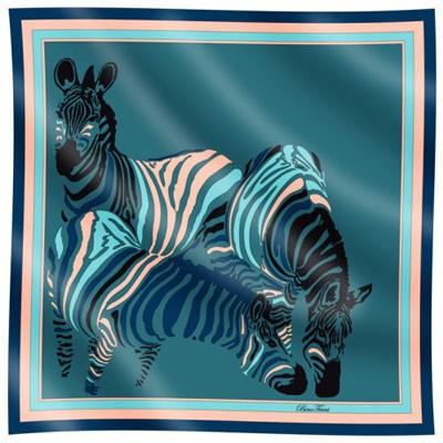 Платок шёлковый «Зебра» Bino Tiani