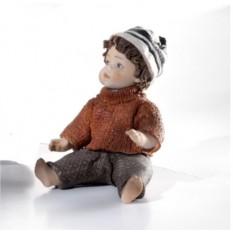Фарфоровая статуэтка Мальчик в шапочке (Sibania)