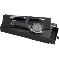 Подарочный набор (ручка шариковая, часы наручные)