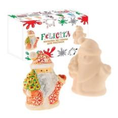 Набор для детского творчества Копилка-раскраска Дед Мороз