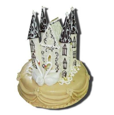 Свадебный торт «Замок»