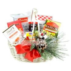 Подарочная корзина Рождественские сладости