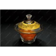 Стеклянная ваза с крышкой