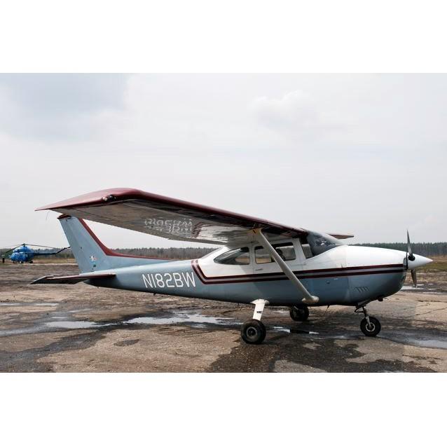Полет на самолете Cessna 182 (30 минут)