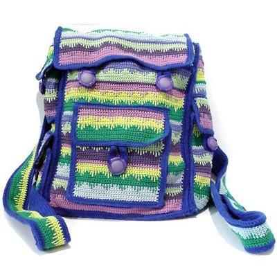 Рюкзачок ручной вязки